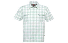 The North Face Men's S/S Ranuka Woven arden green